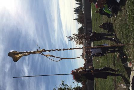 Image of 6th graders have been learning about the scientific method using Mentos and Diet Coke!